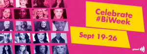 GLAAD Celebrates Third Annual Bisexual Awareness Week