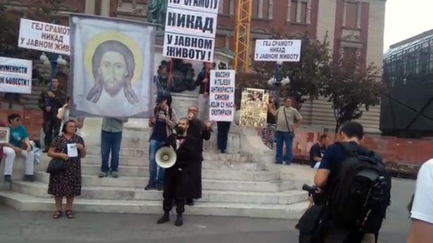 gay pride parade Belgrade