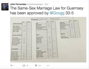 Guernsey same-sex marriage