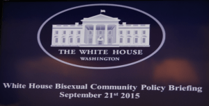 White House hosts Bisexual Community Briefing