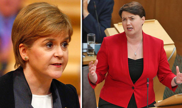 Ruth Davidson and First Minister