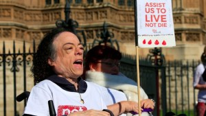 Liz Carr disability rights activist
