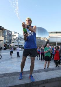 Ben Smith completes 401 marathons in 401 days