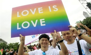 Thousands march in Taipei's LGBT pride parade