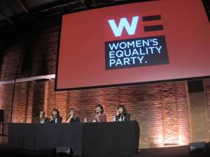 Women's Equality Party hosts cross party panel on next steps for gender equality