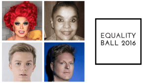 Andy Bell and Michelle McIntyre headline Equality Ball