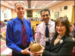 Peter Tatchell receives Gandhi International Peace Award