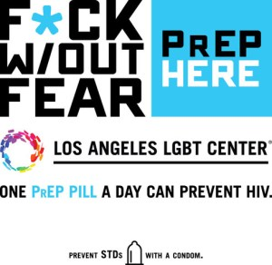 F*ck Without Fear is message of new Los Angeles LGBT Center
