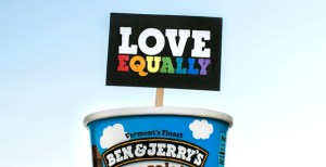 Ben & Jerry's has banned double scoops of the same flavour until Australia legalises equal marriage