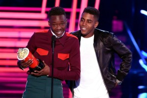 The MTV Movie and TV Awards feature an award-winning same-sex smooch and gender-neutral acting
