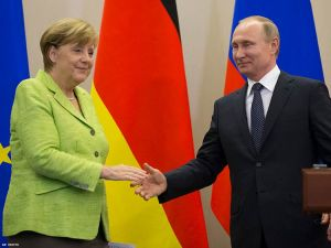 Angela Merkel Urges Vladimir Putin to Protect Gay Rights in Chechnya