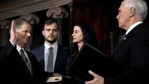 Alabama Senator brings gay son to confront Mike Pence