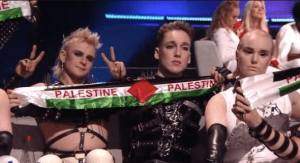 Icelandic BDSM, Palestine, Pride and feeble UK performance. It has to be Eurovision!