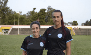 Top flight Argentian women's football team sign trans player