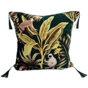 Go wild in  the jungle with these cushions.