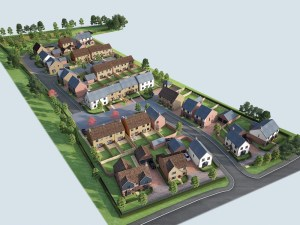 Cambridgeshire development offers commuters a post-Covid idyll.