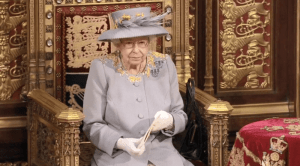 The Queen opens Parliament 2021.