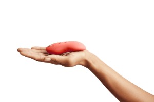 Small but mighty! Meet the We-Vibe Touch X multitasker pleasure toy.