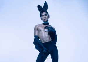 Hetero-fragility and uproar greet Playboy magazine's first gay cover star.