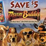 Treasure Buddies $5 Coupon, Activity Sheets and Recipes!