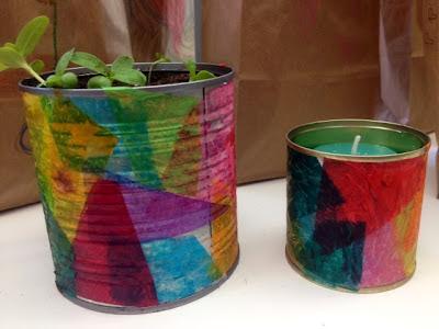 DIY- Tin Can Art!