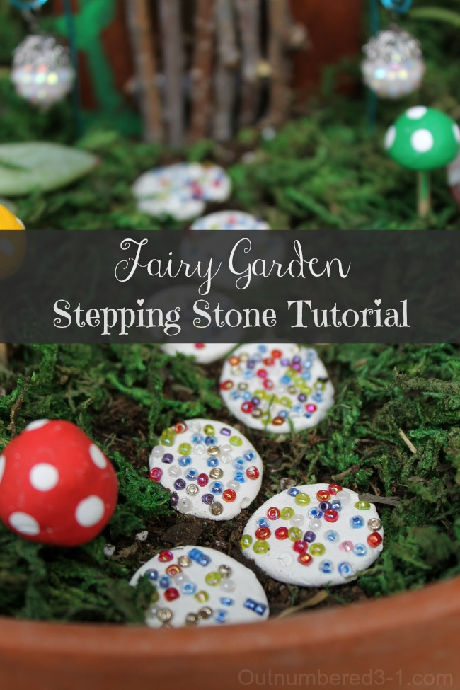 Fairy Garden Stepping Stone Tutorial