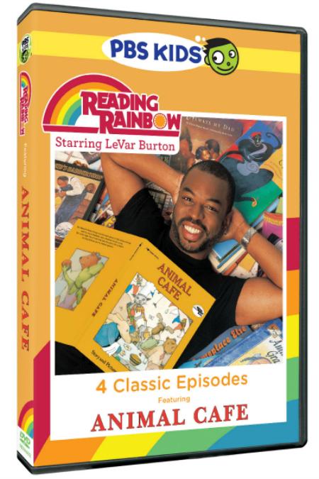New Reading Rainbow DVD: Animal Café & New Online Service: SKYBRARY