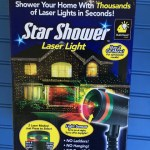 The Star Shower Laser Light Lets You Decorate Your Home For the Holidays in Seconds!