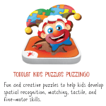 Creative Educational Fun with PUZZINGO Toddler Kids Puzzles!