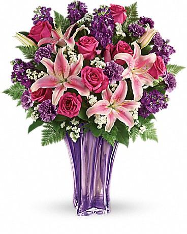 Teleflora's Luxurious Lavender Bouquet