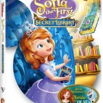 Disney Junior Presents Sofia the First: The Secret Library on DVD
