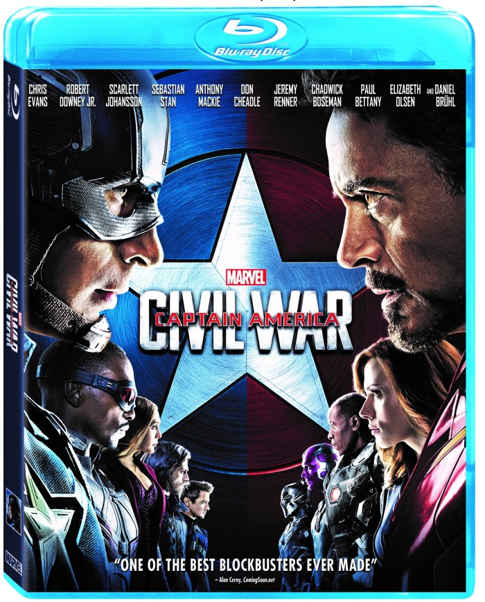 Captain America Civil War On Digital HD & Blu-ray