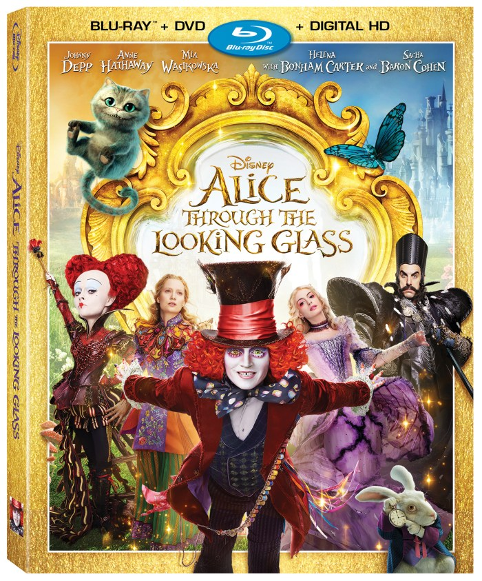 Alice Through The Looking Glass Now on Blu-ray & DVD