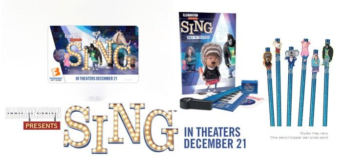 Sing Movie Prize Pack