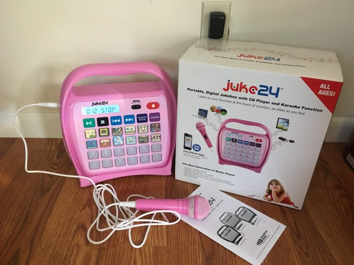 Juke24 is the Next Generation Portable, Digital Jukebox & Media Player For Kids