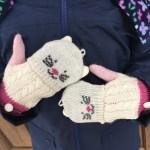 Super Cute JoJo Maman Bébé Cat Gloves