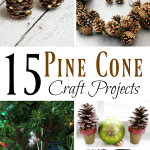 15 Pine Cone Craft Projects
