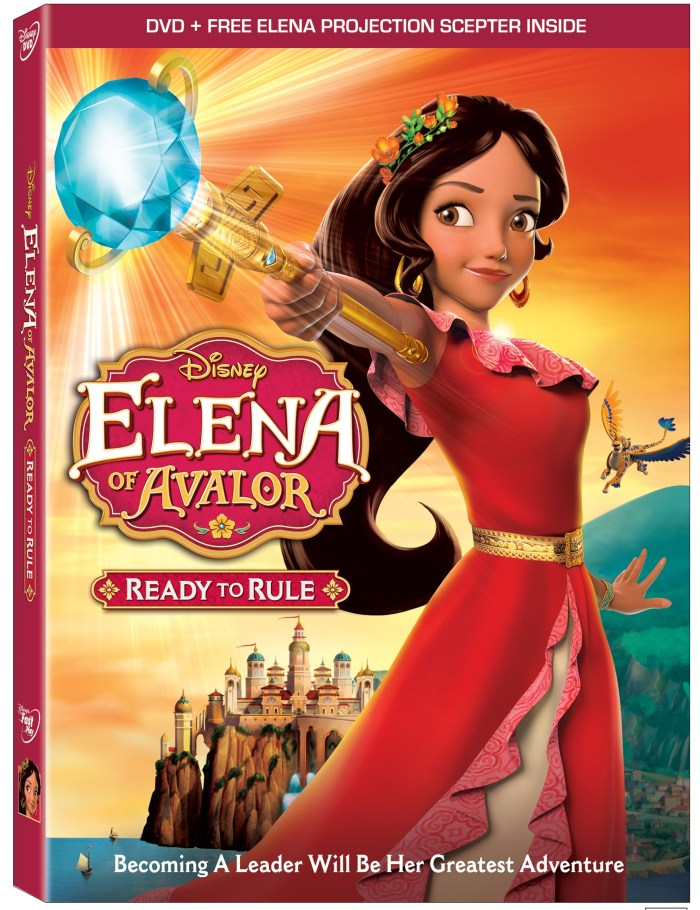 Elena of Avalor: Ready to Rule on Disney DVD
