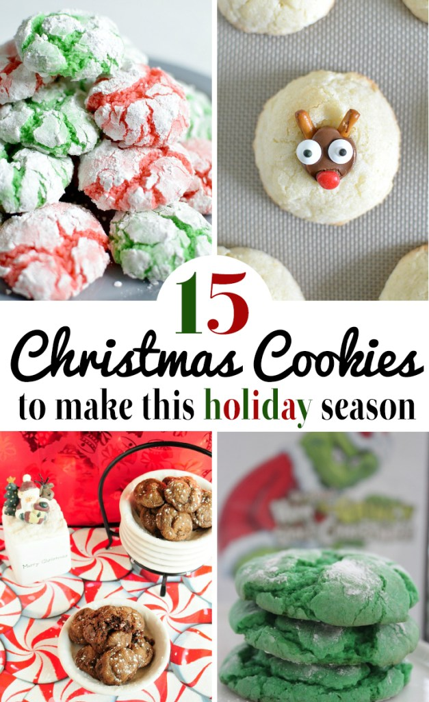 15 Christmas Cookies to make this holiday season