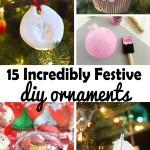 15 Incredibly Festive DIY Christmas Ornaments