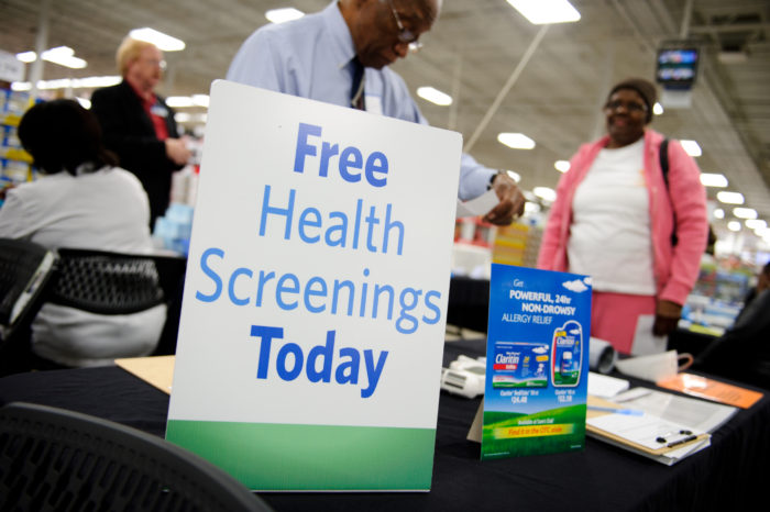 Free Self-Service Health Screenings Are Now Offered at Sam's Club!