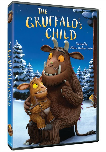 The Gruffalo and the Sequel Gruffalo's Child DVD Reviews & Giveaways