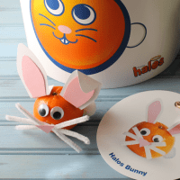 Adorable Halos Bunny Craft Plus Prize Pack Giveaway
