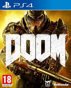 Doom PS4 Cover Art