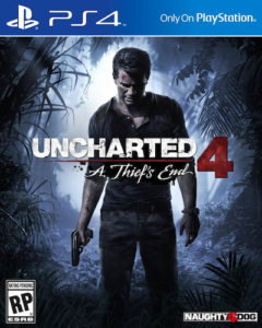 Uncharted 4 PS4 Cover Art