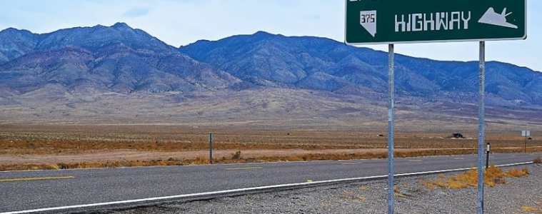 Area 51 Extraterrestrial Hwy Nevada