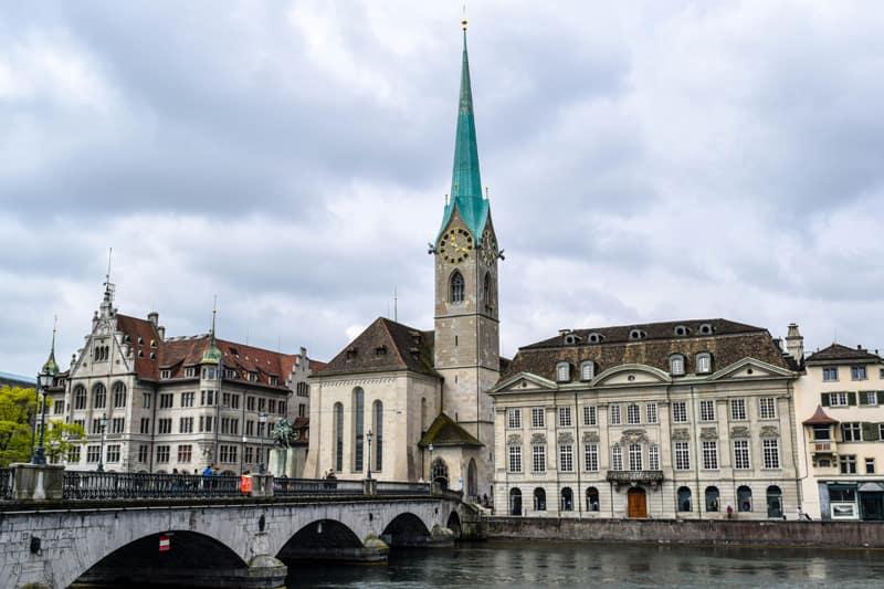 Fraumünster Zurich Switzerland Things to do