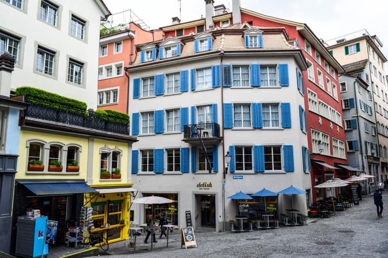 Niederdorfstrasse Zurich Switzerland Things to do