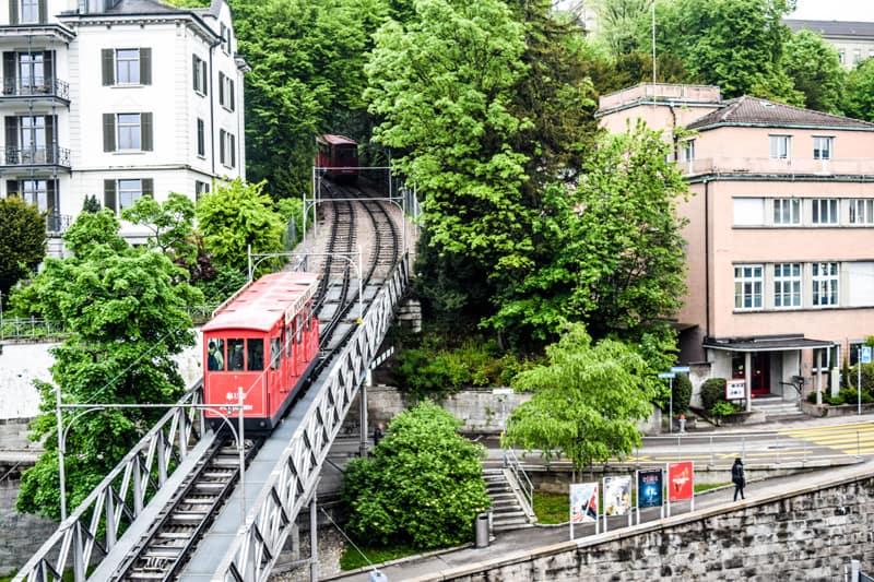Polybahn Zurich Switzerland Things to do