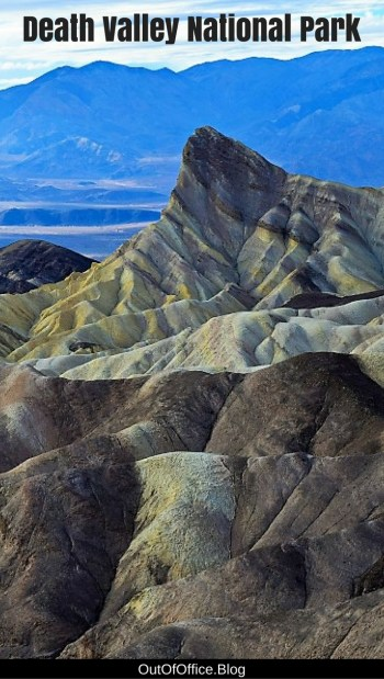 Death Valley is full of multi-colored mountains, deep canyons, salt flats and sand dunes. It is intriguing, mysterious, dangerous and insanely gorgeous.